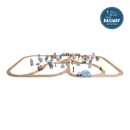 Slika za Little Dutch® Railway Train XXL Set - Starterkit
