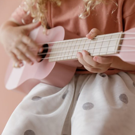 Little Dutch® Drvena dječja gitara Pink