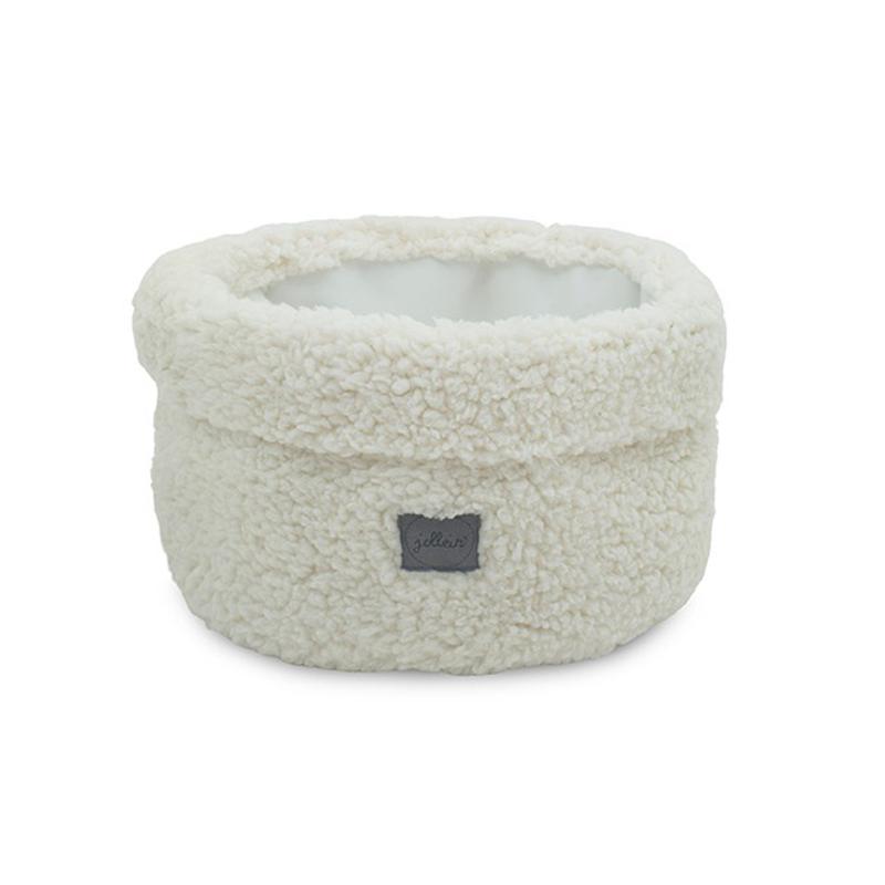 Slika za Jollein® Košara za pohranjivanje stvarčica River Teddy Cream White