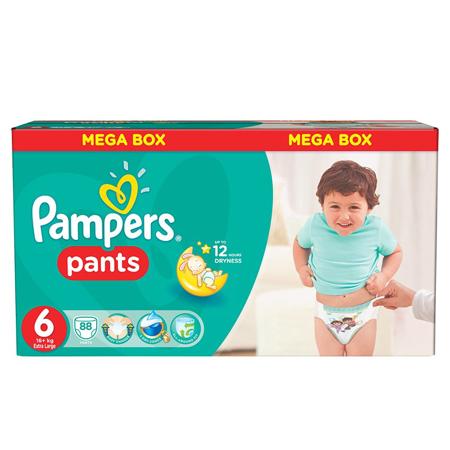 Slika za Pampers® Pelene gaćice vel. 6 (16+ kg) Mega Box 88 komada