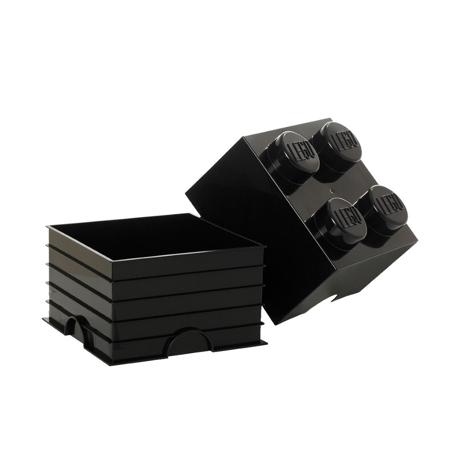 Slika za Lego® Kutija za pohranjivanje 4 Black