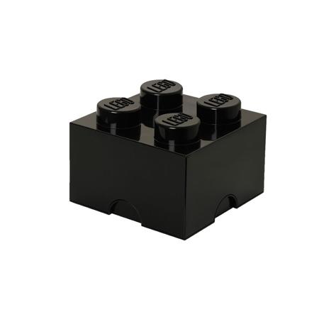 Lego® Kutija za pohranjivanje 4 Black