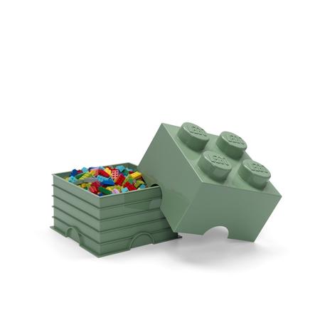 Slika za Lego® Kutija za pohranjivanje 4 Sand Green