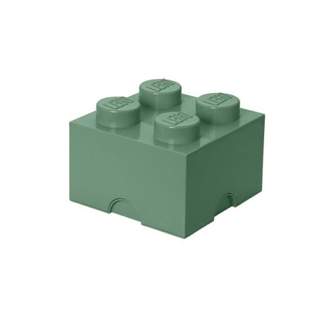 Lego® Kutija za pohranjivanje 4 Sand Green