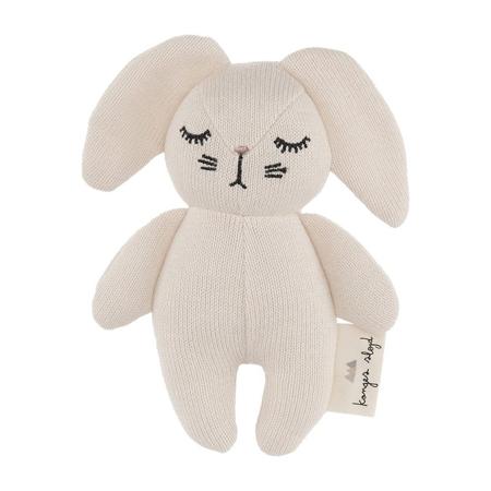 Slika za Konges Sløjd® Igračka sa zvečkom Mini Rabbit Off White