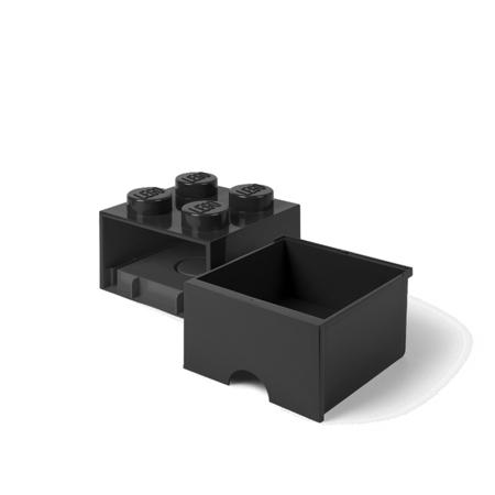 Lego® Kutija za pohranjivanje s ladicama 4 Black
