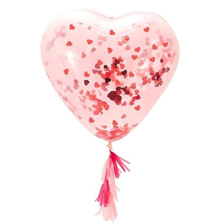 Slika za Ginger Ray® Veliki balon s konfetima Heart