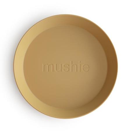 Mushie® Set dva tanjurića Mustard