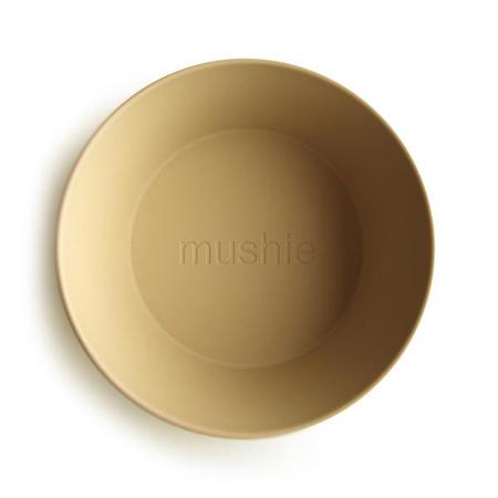 Slika za Mushie® Set dvi posudice Mustard