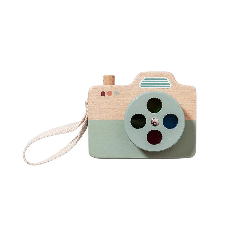 Slika za Petit Monkey® Drveni fotoaparat Blue