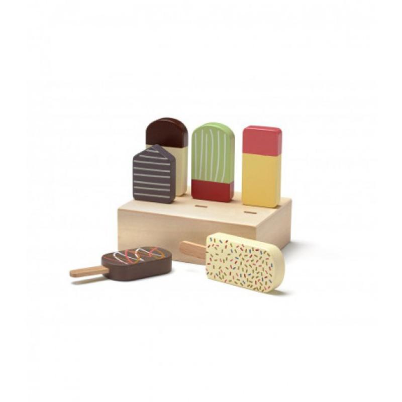 Slika za Kids Concept® Drveni štapići za sladoled BISTRO