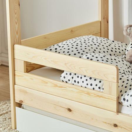 Quax® 2x ogradica za dječji krevetić - kučicu My Home Natural