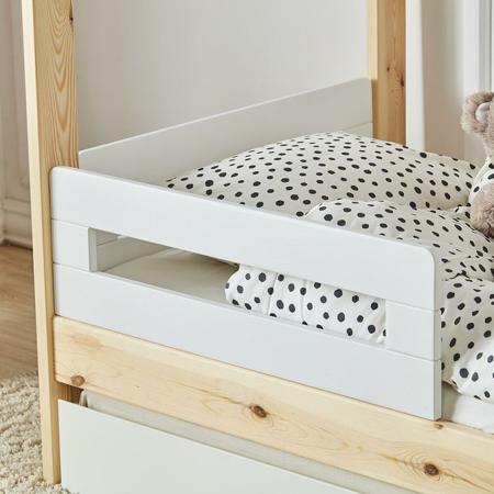Quax® 2x ogradica za dječji krevetić - kučicu My Home White