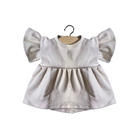 Minikane® Majica za lutke Milleraies Ecru 34cm
