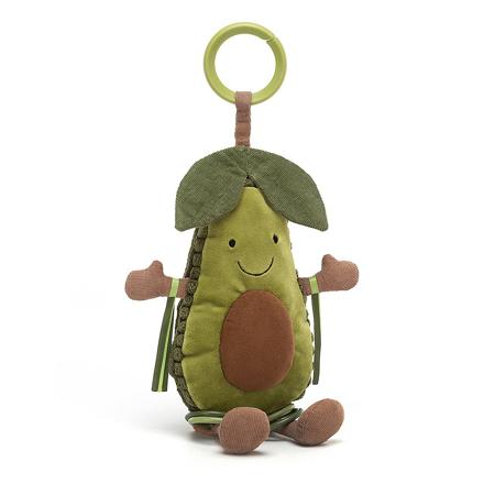 Slika za Jellycat® Didaktička plišana igračka Avocado 25x9