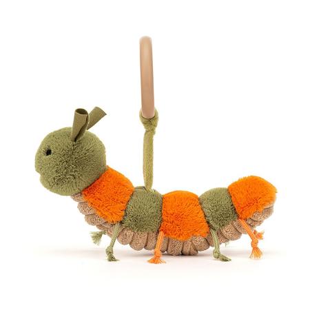 Jellycat® Zvečka Christopher Caterpillar 8x16