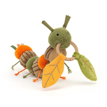Slika za Jellycat® Didaktička plišana igračka Christopher Caterpillar 12x23