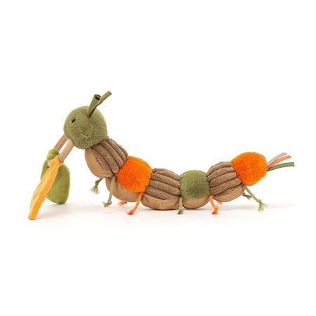 Jellycat® Didaktička plišana igračka Christopher Caterpillar 12x23
