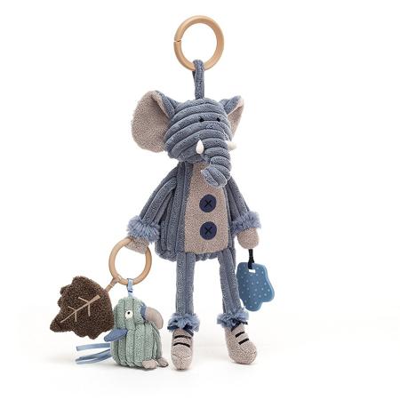 Slika za Jellycat® Didaktička plišana igračka Cordy Elephant 28x9