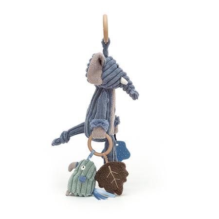 Jellycat® Didaktička plišana igračka Cordy Elephant 28x9