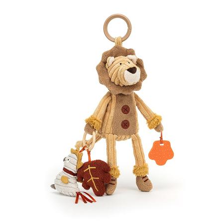 Slika za Jellycat® Didaktička plišana igračka Cordy Lion 28x9