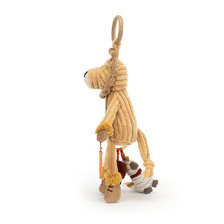 Jellycat® Didaktička plišana igračka Cordy Lion 28x9