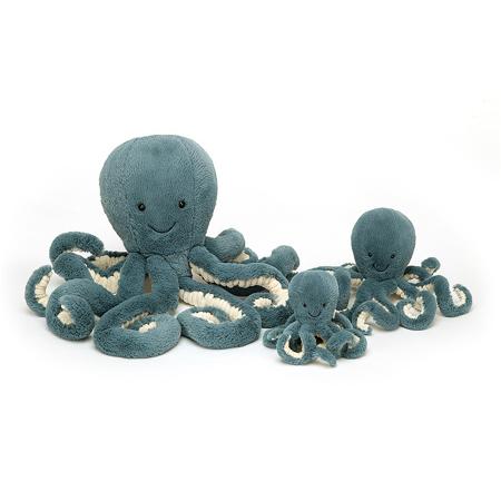 Jellycat® Plišana igračka  Storm Octopus Tiny 14x7