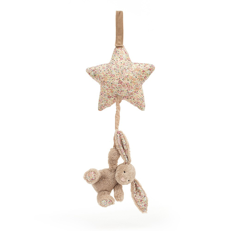 Slika za Jellycat® Glazbena igračka Blossom Bea Beige Bunny 28cm
