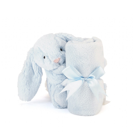 Slika za Jellycat® Mazilica Bashful Blue Bunny 34cm