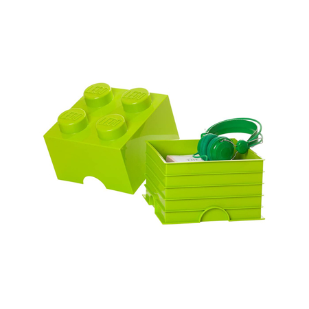 Slika za Lego® Kutija za pohranjivanje 4 Bright Yellow Green