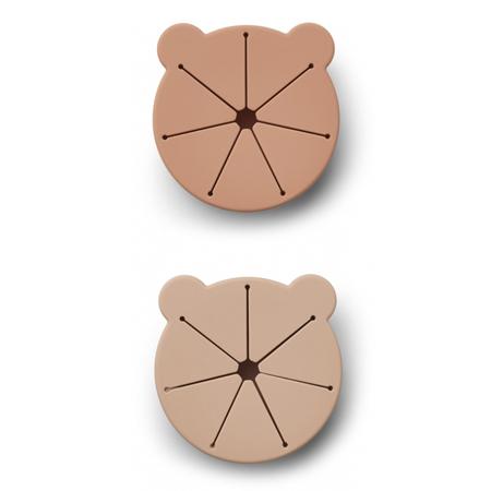 Slika za Liewood® Komplet 2 silikonske posudice za grickalice Kelly Mr Bear Rose Mix