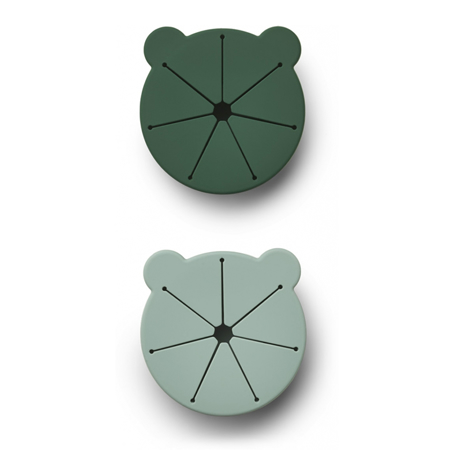 Slika za Liewood® Komplet 2 silikonske posudice za grickalice Kelly Mr Bear Green Mix