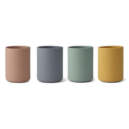 Slika za  Liewood® Set 4 silikonske čašice Ethan Rabbit Multi Mix
