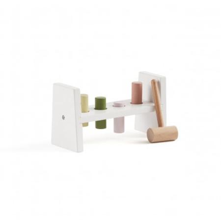 Slika za Kids Concept®  Drvena igračka s čekićem Edvin White