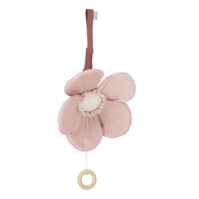 Slika za CamCam® Mekana glazbena igračka Windflower Dusty Rose