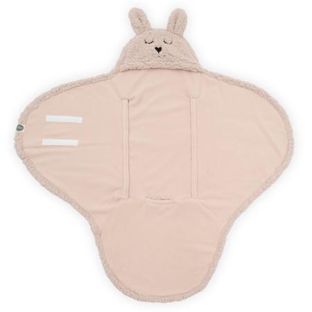 Jollein® Dekica za novorođenče Bunny Pale Pink 105x100