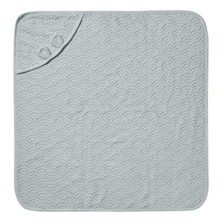 CamCam® Ručnik s kapuljačom i ušima GOTS Classic Grey 80x80