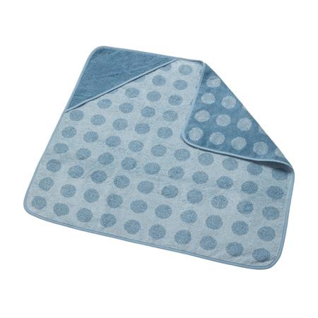 Slika za Leander® Pamučni ručnik s kapuljačom Dusty Blue 80x80