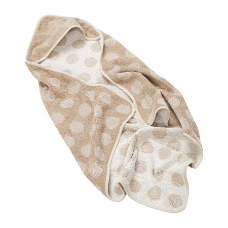 Leander® Pamučni ručnik s kapuljačom Cappuccino 80x80