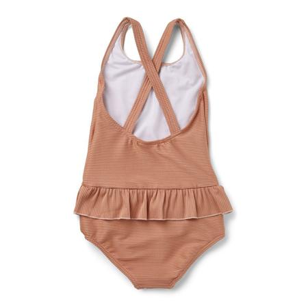 Liewood® Dječji kupaći kostim Amara Structure Tuscany Rose
