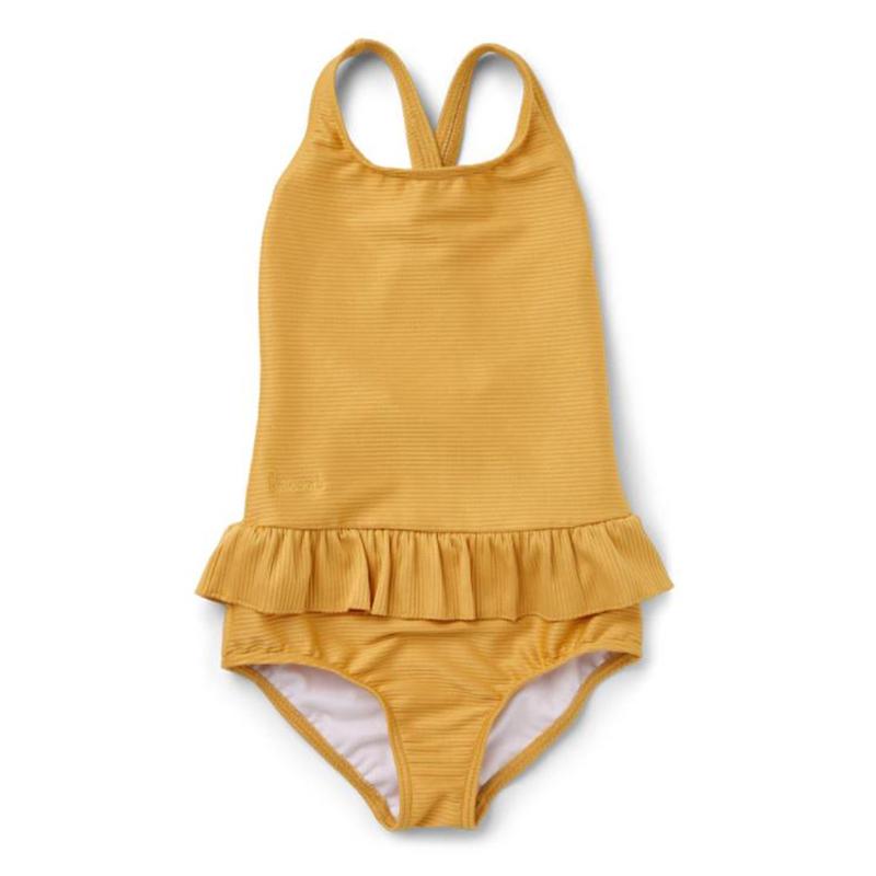 Slika za Liewood® Dječji kupaći kostim Amara Structure Yellow Mellow