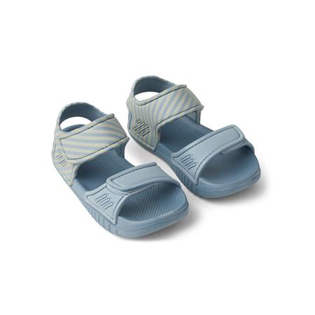 Slika za Liewood® Sandale Blumer Stripe Sea Blue/Sandy