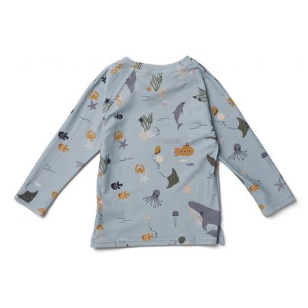 Liewood® Majica s UV zaštitom Noah Sea Creature Mix