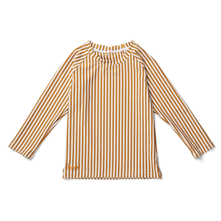 Slika za  Liewood® Majica s UV zaštitom Noah Stripe Mustard