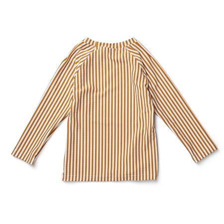 Liewood® Majica s UV zaštitom Noah Stripe Mustard