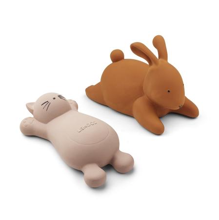Slika za  Liewood® Set 2 igračke za kupanje Vikky Cat Rose