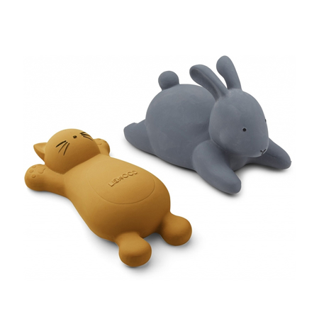Slika za  Liewood® Set 2 igračke za kupanje  Vikky  Cat Mustard