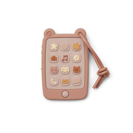 Slika za Liewood® Didaktička igračka od silikona Telefon Thomas Rose