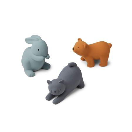 Slika za Liewood® Set 3 igračke za kupanje David Blue Multi Mix