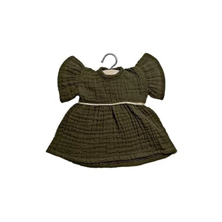 Slika za Minikane® Majica za lutke Daisy Kaki 32cm